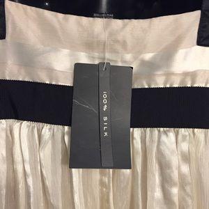 Zara Dresses - Zara Women's Silk Pleated Midi Dress Size L